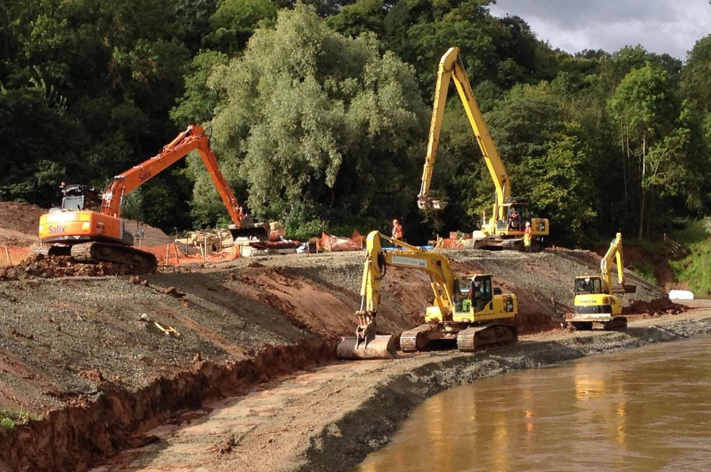 River Teme restoration project