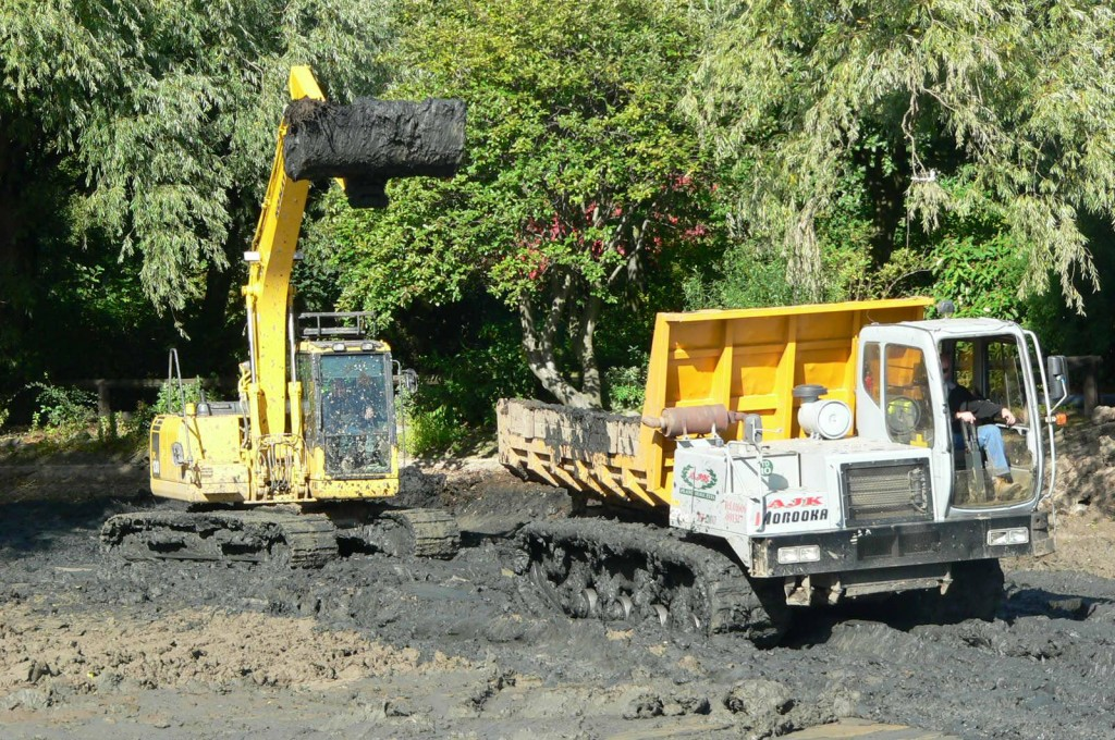 Dredging works ongoing
