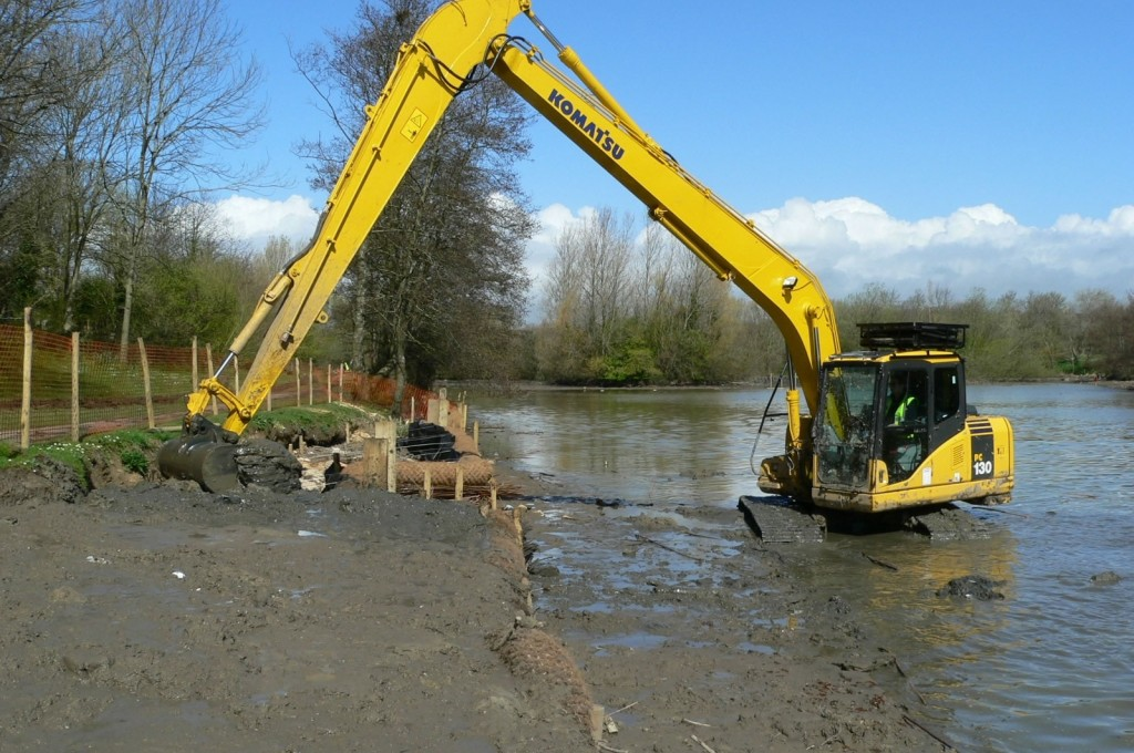 Backfill With Dredged Material