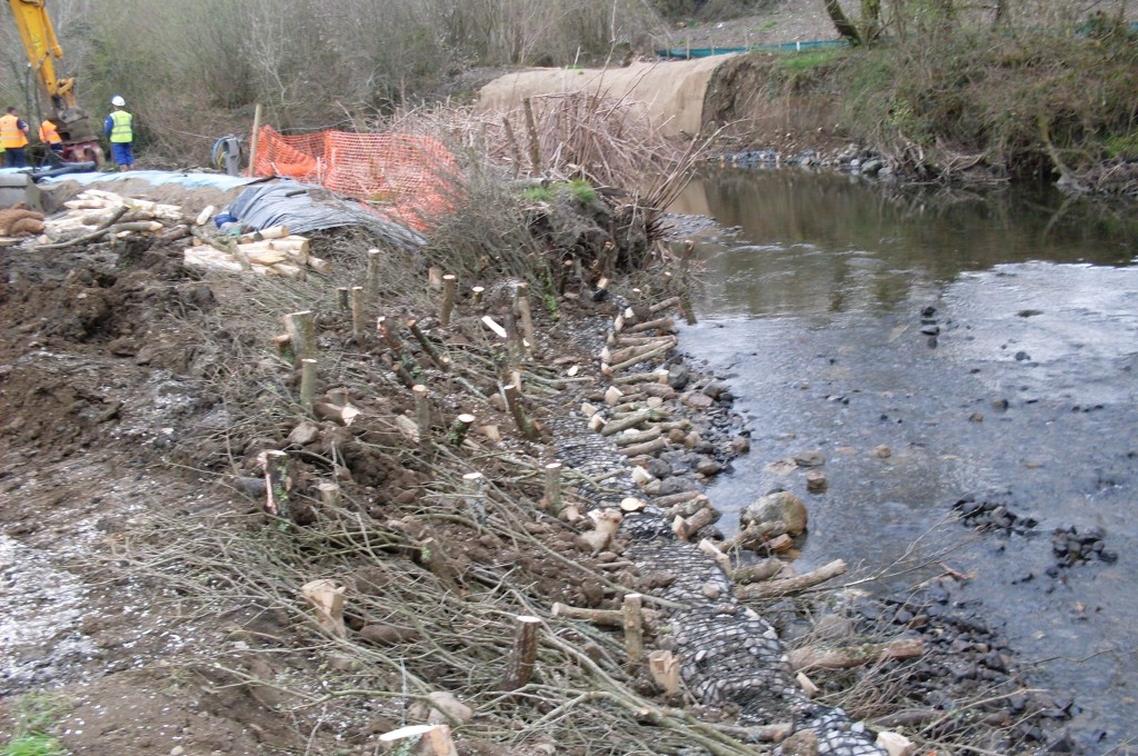 Completed Revetment