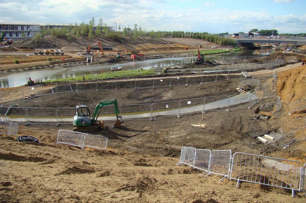Olympic Wetland Bowl During Works