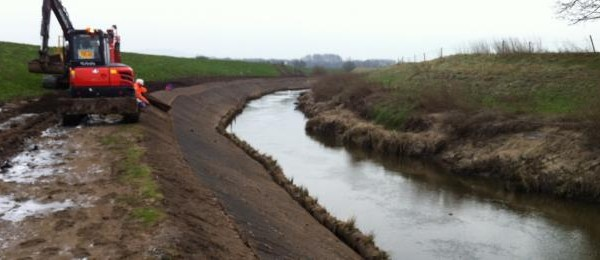 Flood Embankment Protection Caterrall Stop Press