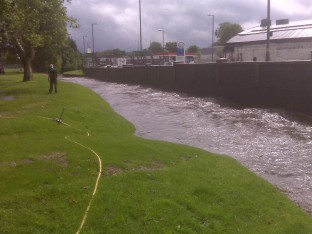 Flood at Birmingham University