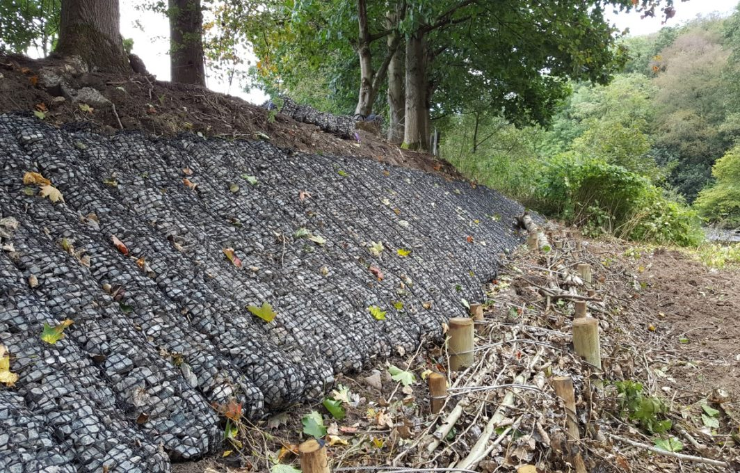 Rock Mattress erosion control
