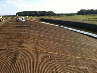 September installation of Vmax C350 on spillway