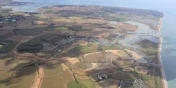 Whole Site Aerial 19.09.13 Copyright of the Environment Agency