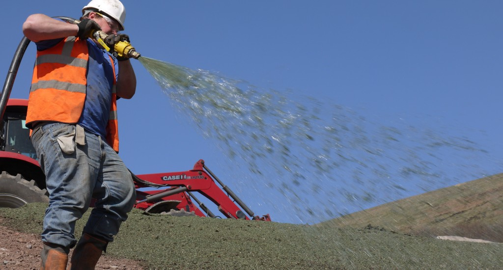 HydraCX being applied at Silent Valley site