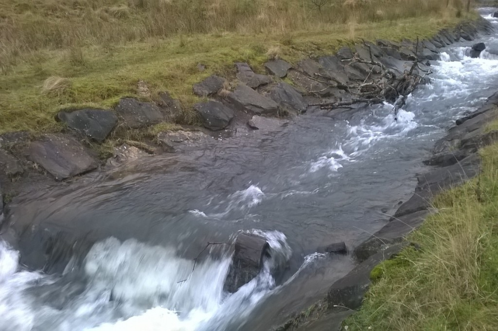 Impacting the flow at Cwmparc