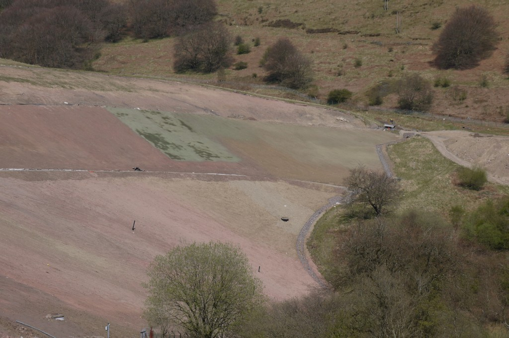Silent Valley Landfill in April