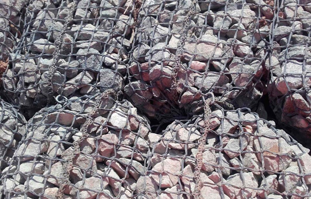 Close up of Rock Mattress